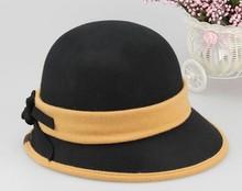 2014 Fashion wool felt hats womens cloche hats wholesale