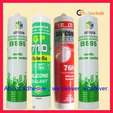 construction usage silicone rubber adhesive marble stone adhesive weatherproof glue
