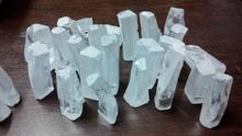 white color cubic zirconia lab created unpolished gemstones