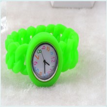 2015 Hot Sale Young guy silicone bracelet watch wholesale