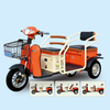 2015 New Hot Salt Cheap Electric Cargo Tricycle with passenger seat for Handicapped