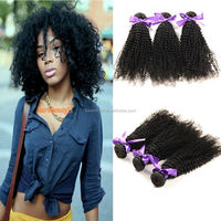 Qingdao Top Quality 8A Hair Products For Mongolian Virgin Kinky Curly Hair Weave In Uk 22 24 26 Inch 3Pcs Lot
