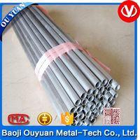 high quality supply asme sb 338 gr2 grade 5 extruded seamless titanium tube price for sale