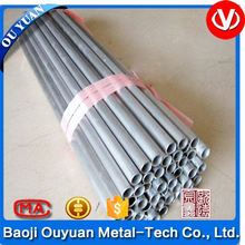 high quality supply asme sb 338 gr2 grade 5 extruded seamless titanium tube price for sale