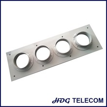 4'' cable wall entry ,1*4 opening cable plate