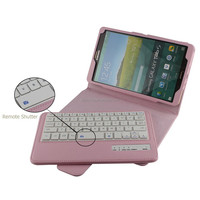 Magnetic detachable mini wireless keyboard with waterproof shockproof case for samsung galaxy tab s 8.4
