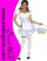 Adult sexy country Girl costume cheap carnival costumes CW-1050