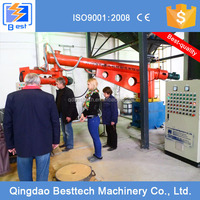 Two arms polyurethane resin mixering machine