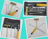 2015 Hot Sale New 5Pcs Watch Repair Tool Kit Case Opener Link Remover Spring Bar & Carrying bag