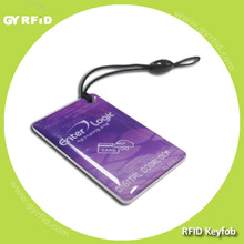 KEE GK4001 125khz rfid printed logo keytag for RFID security system ( GYRFID )