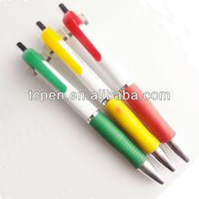Rubber Grip plastic ball pen TC-13005