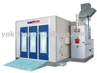 model spray booth is a paint baking oven for automotive car baking