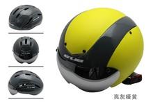 road bike helmet with glasses, dismountable shell sports helmet