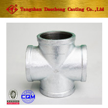 """Malleable iron pipe fittings 1/2""""-4"""" CROSS"""