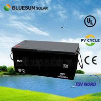 ISO CE SGS UL ups inverter battery charger battery for 10hr / 20hr 12v 200ah