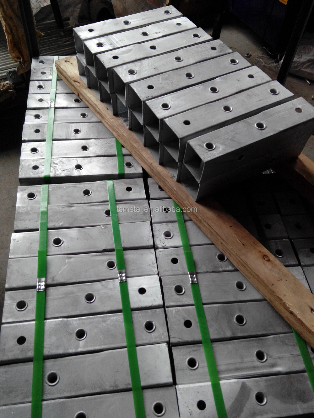 stalen palen betonnen palen metalen palen-Hekwerk, trellis en ...