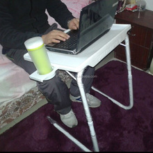 NEW Table Mate - The Adjustable laptop table With cup holder protable folding laptop table mate 2