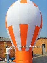 2012 Orange and white advertising inflatable balloon