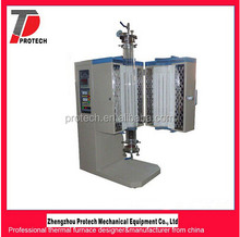 PID control programmable laboratory vertical tube furnace