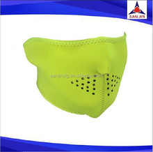 Colorful neoprene half face breathable ski motorcycle mask