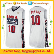 Low price new style oem basketball jersey/short product