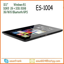 2016 newest Factory Direct Selling Tablet PC Extra TF Card Slot Expand 32GB Windows Tablet