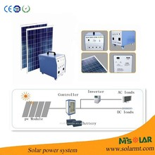 Hot sale 8KW home off-grid power inverter with solar panel, controller and batteries