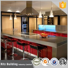 Flat pack kitchen modular kitchen cabinet color combinations for high gloss kitchen cabinets