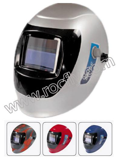 AS-2000F auto darkening welding helmet