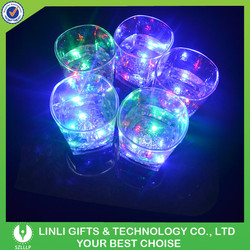 Light Up Flashing Popular And Novelty Designed Whisky Glass With LED