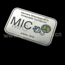 brand badge logo customized / metal logo producer SW-PP026