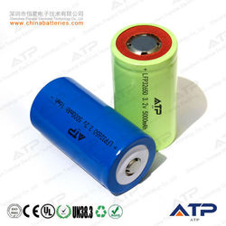 On Sale !!! rechargeable 3.2v lifepo4 ifr32650 5000mah battery /32650 cylindrical battery 3.2v 5000mah / lfp battery 32650