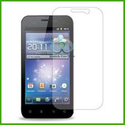 Hot Model Manufacturer High transparent Cell phone LCD Touch screen HD film skin guard for Huawei M865