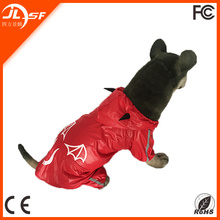 Adorable Pet and Dog Rain Coat Pet Dog Clothes Waterproof Dog Coat in Red