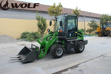 China wheel loader mini,zl08b wheel loader with electric joystick