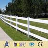 AFOL white plastic split rail fence wood post and rail fences