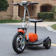 Battery powered 3 wheel electric zappy mobility scooter