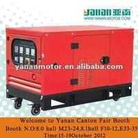 On SALE!!!Yanan ISUZU Silent type 10kw diesel Genset For sales