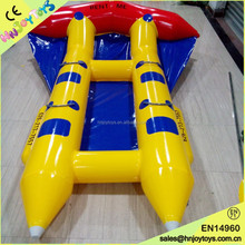 Water games inflatable flying fish boat, inflatable flying fish tube, inflatable flying manta ray