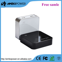 2014 new 7800mah mobile power bank power with dual usb