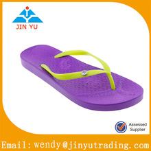 2014 lady flat slipper flip flop