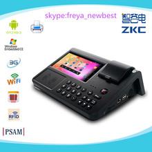 "Android terminal punto de venta con 7"" pantalla táctil/dactilaressdk/impresora/tarjeta sim/lector de rfid"