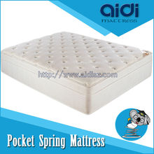 High Ending Double Layer Sleep Well Pocket Spring King Mattress With Royal Memory Foam AC-1010
