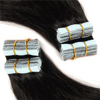 Wholesale Human Hair Extensions Skin Weft Remy Hair Extensions Tape Weft