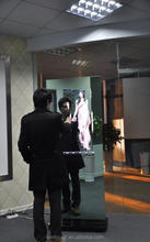 WiVi Touch 55inch magic mirror lcd ad display,electronic information kiosk,multimedia information kiosk