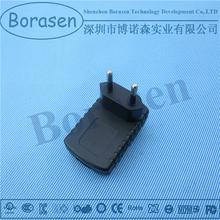 5V1A EU plug phone accessory wall charger