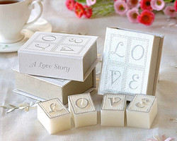 European and American style wedding favor candles romantic love letter book candle of small MOQ