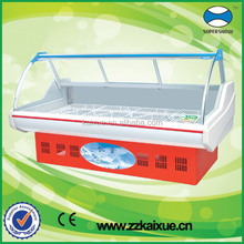 glass display case for meat,deli,fresh food