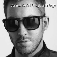 2015 sunglasses custom metal logo