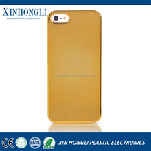 hot sale mobile phone case for iphone 5 4.7&5.5 inch cover for ultra slim metal transparent Electroplate pc hard shell